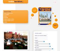 html web lapas izveide - www.kurdzivot.lv