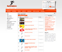 portālu izstrāde - www.sportisti.lv